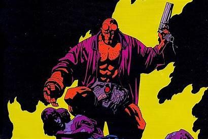 Hellboy Comics Horse Dark