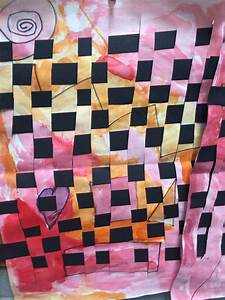First, Grade, Warm, Cool, Paper, Weaving, U2013, Art, With, Ms, Bruce