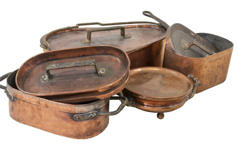 collection  french copper cookware march  day