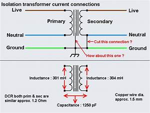 Isolation Transformer Current Connection In 2019
