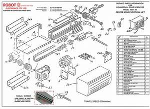 Spare Parts For Vertical Lift Coolroom And Freezer Door Opener Model Sbd-03