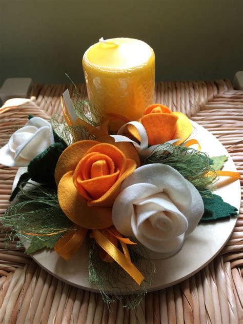 Centrotavola Con Candela centrotavola con candela per la casa e per te decorare