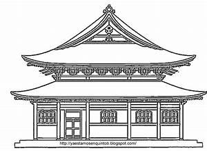 Maison Japonaise Dessin : carnaval colores del mundo asia ~ Melissatoandfro.com Idées de Décoration