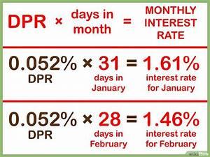 Effektiven Zinssatz Berechnen : kreditkartenzinsen berechnen wikihow ~ Themetempest.com Abrechnung
