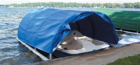 Paddle Boat Covers Canvas by Conestoga Covers Floating Boat Covers Small Covers