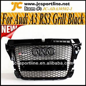 Calandre De Voiture : noir brillant de voiture calandre v ritable sportback rs3 grille avant pour audi a3 s3 8p 08 12 ~ Medecine-chirurgie-esthetiques.com Avis de Voitures