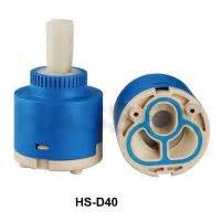 faucet ceramic cartridge plastic valve core by kaiping