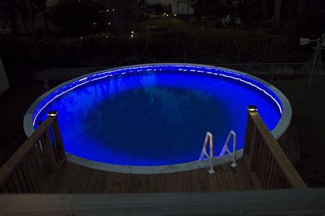 swimming pool led lights swimming pool rgb led strips pool party pinterest