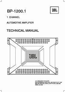 Jbl Bp1200 1 Wiring Diagram