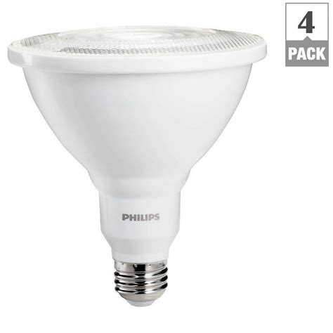 dimmable led flood lights philips 100w equivalent bright white indoor outdoor