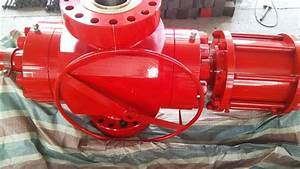 Red Wellhead Surface Safety Valve   Fc Hydraulic Gate