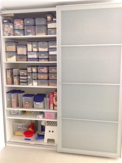 my ikea pax wardrobe used as a kitchen pantry ikea hacks