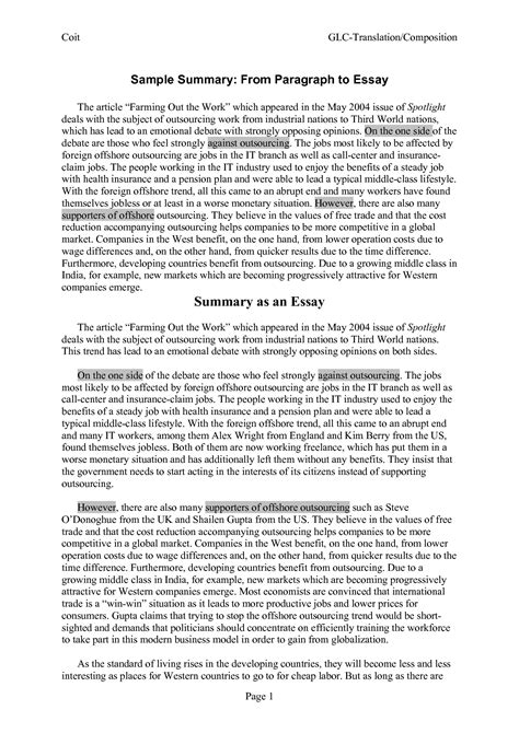 mla summary template technology  classroom article format essay thatsnotus