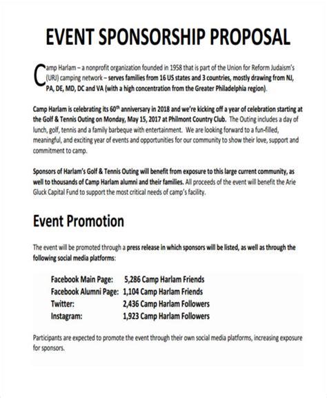 sponsorship proposal examples   google docs