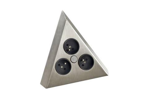 alimentation electrique cuisine multiprise d 39 angle à fixer sur plan de travail accessoires