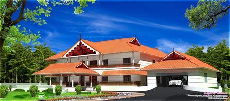 kerala style super luxury house kerala home design  floor plans