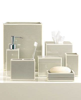 Modern Bath Accessories Collections by Kassatex Bath Accessories Gray Soho Collection Bathroom