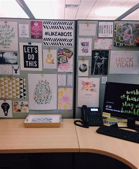 creative diy cubicle workspace ideas house design