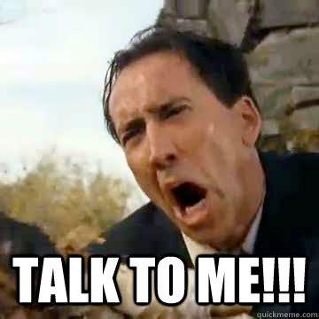 Talk Meme Talk To Me Nicolas Cage Quickmeme