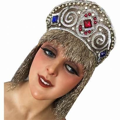 Headdress Showgirl Theater Stage Headpiece Opera Rubylane