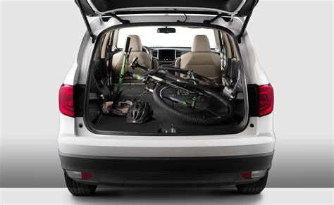 Trunk Space In The Honda Pilot