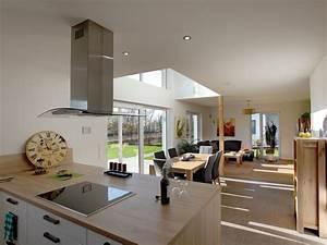 Wohn Esszimmer Küche : cool wohn ess kche einrichten inside spa neu in ~ Watch28wear.com Haus und Dekorationen