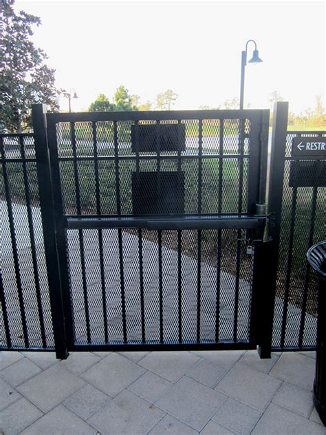 universal fence  access controll