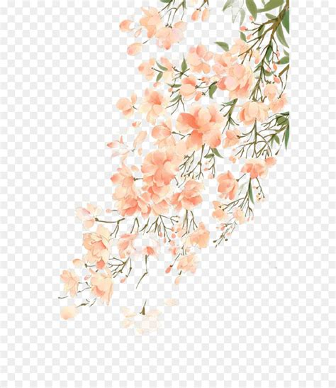 Watercolor painting Flower - Antiquity beautiful