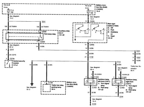 2003 Ford F650 Headlight Wiring Diagram by When I Put On My Headlights Switch I No Back