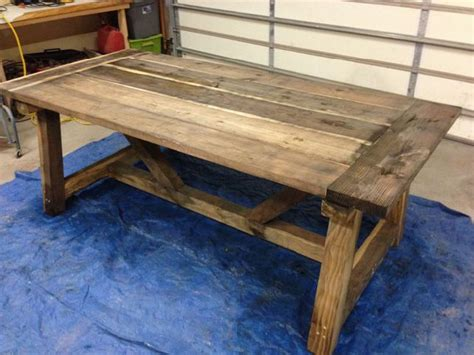 diy rustic dining table how to build a rustic dining table large and beautiful