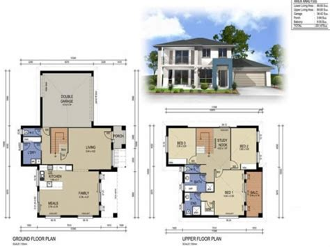 2 storey house plans 2 story modern house designs 2 storey house design with floor plan house plan 2 storey
