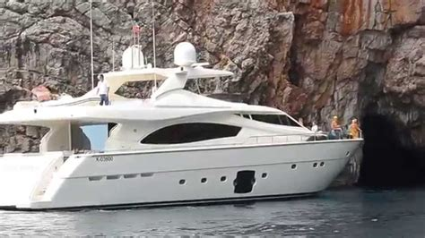 Big Boat Fails by Big Yacht Fails To Enter In The Blue Cave Montenegro