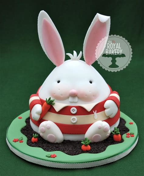 chubby bunny easter cake tutorial  royal bakery