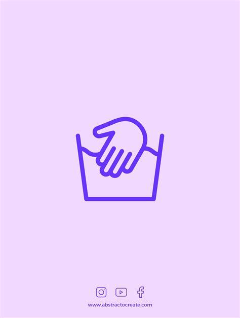 Laundry Symbols | Line icons | Iconos, Grafia y Revistas