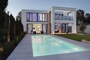 Moderne Hausfassaden Fotos : moderne h user innen google suche architecture haus haus grundriss und architektur ~ Orissabook.com Haus und Dekorationen