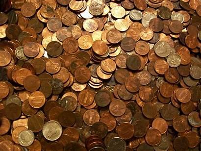 Coins Coin Pennies Scrap Lifespan Saving Metals