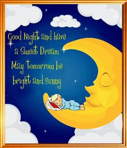 Tomorrow Sunny Bright Night Goodnight Greetings Change