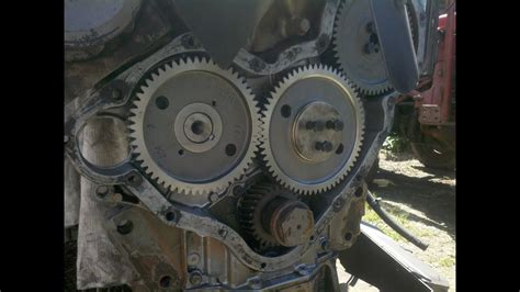 mf  timing case reassembly timing  gears part