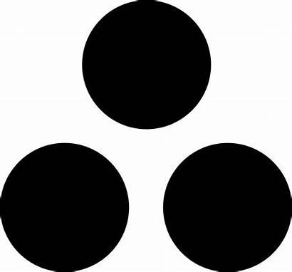 Dots Three Icon Svg Peace Flag Center