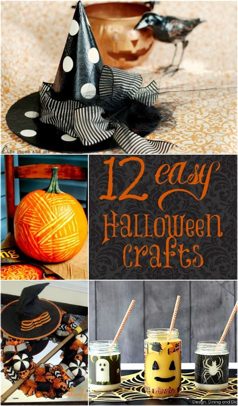 easy diy halloween crafts home stories