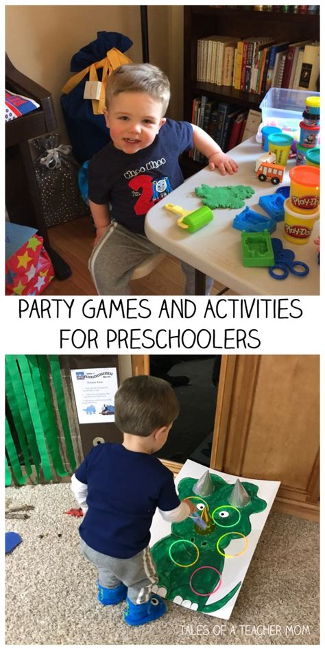 tales of a learning and with a one 619 | Party Games and Activities for Preschoolers 2
