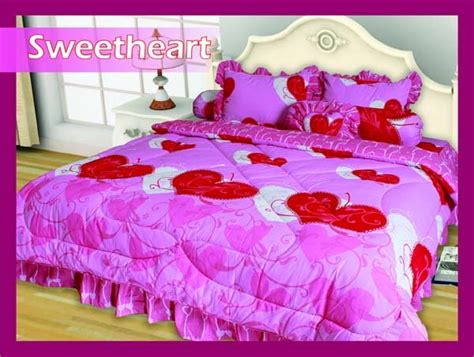Harga Sprei Merk Sweetheart bunbun collections sprei bed cover set my 180