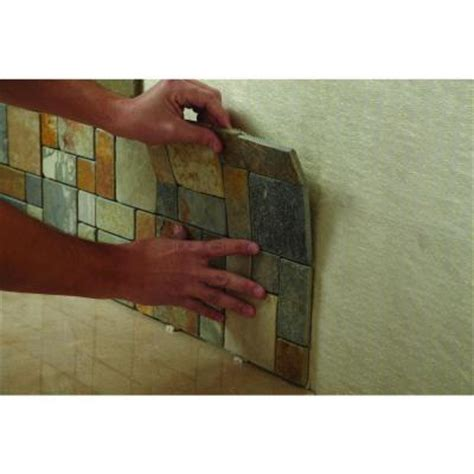 installing a glass 3 quot x12 quot tile with mastic and grout to