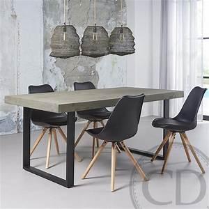 Table Et Chaise Scandinave : chaise scandinave noir ralf wood kiv sur cdc design ~ Melissatoandfro.com Idées de Décoration