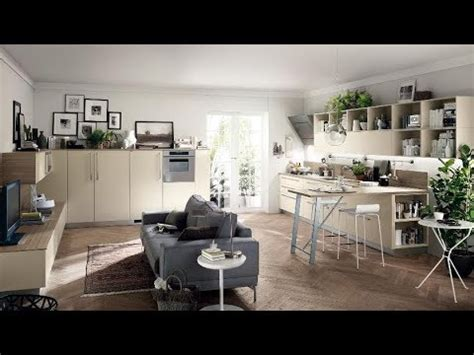 Small Kitchen Living Room Combo Ideas 2019  Youtube