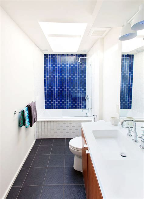 before after a dingy 1970s bathroom becomes bright and modern