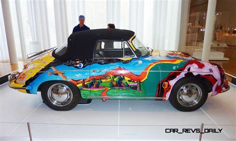 porsche  art car janis joplin homage