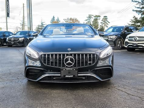 Simply research the type of used car you're interested in and then select a car. New 2020 Mercedes-Benz S63 AMG 4MATIC+ Cabriolet Convertible in Kitchener #39419 | Mercedes-Benz ...