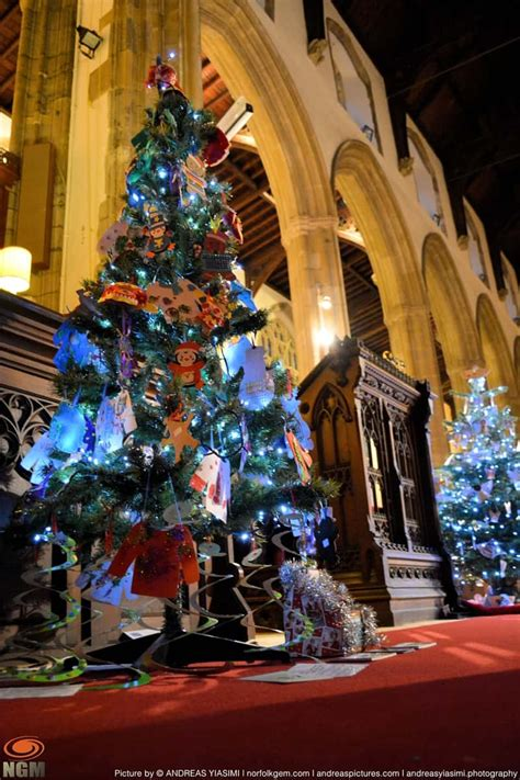 cromer christmas tree festival norfolk gem magazine