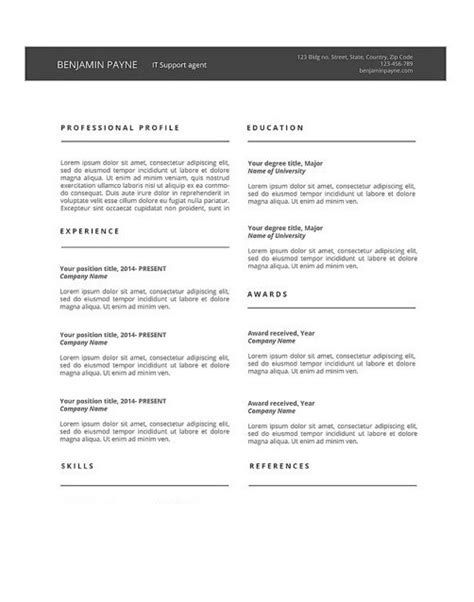 12+ Chronological Resume Templates | MS Word, Excel & PDF Formats, Samples, Examples, Designs